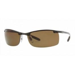 Ray-Ban Mens RB 8305 CARBON FIBRE Sunglasses